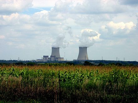 Byron Nuclear Generating Station in Ogle County