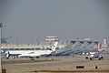 C-32, 737 and C-17 Quartets@PEK (20141108124833).JPG