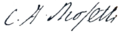 C. A. Rosetti - signature.png