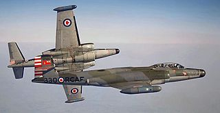Avro Canada CF-100 Canuck Interceptor aircraft in service 1952-1981
