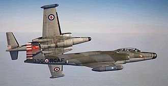 Avro Canada CF-100 Canuck - No. 423 Squadron Mk 4B CF-100s, 1962. This squadron was based in Grostenquin, France.