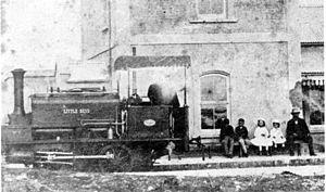 CGR 0-4-0ST 1873 - Image: CGR 0 4 0ST 1873 no. M2 Little Bess