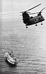CH-46 Sea Knight approaches USS Tripoli (LPH-10), circa in 1968.jpg