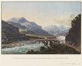 CH-NB - Domleschg, von Norden mit Brücke bei Schloss Ortenstein - Collection Gugelmann - GS-GUGE-BLEULER-2b-19.tif