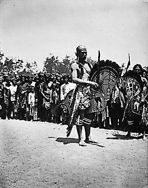 Kuda Lumping - A Kuda Lumping dancer in Mataram, Lombok (1922)
