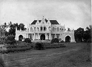 Cikini Hospital - Image: COLLECTIE TROPENMUSEUM Het huis van de kunstschilder Raden Saleh door hemzelf gebouwd. T Mnr 60005156