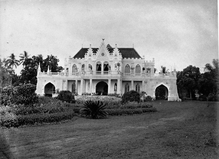 COLLECTIE TROPENMUSEUM Het huis van de kunstschilder Raden Saleh door hemzelf gebouwd. TMnr 60005156