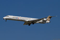 Bombardier CRJ1000 der Brit Air