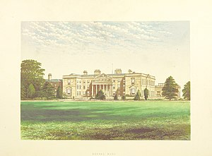 Gopsall - Image: CS p 2.288 Gopsal Hall, Leicestershire Morris's County Seats, 1868