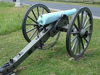 Canon obusier de 12 - Image: CW Arty M1857 Napoleon rear