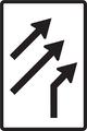 C 21 - Usporiadanie jazdných pruhov (pripojenie s pripájacím pruhom).png