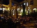 Cafe Courtyard at Night - Girne (Kyrenia) - Turkish Republic of Northern Cyprus (27950015784).jpg
