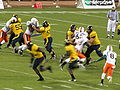 Cal on offense at 2008 Emerald Bowl 01.JPG