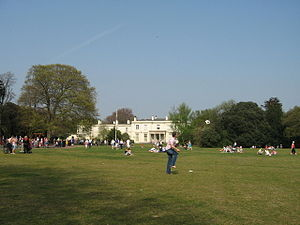 Parks and open spaces in Liverpool - Image: Calderstones House