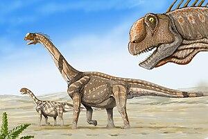 Cleveland-Lloyd Dinosaur Quarry - Camarasaurus