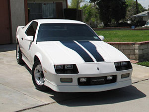 A third-generation Camaro