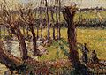 Camille Pissarro - Los sauces en invierno, Eragny, c. 1890.jpg