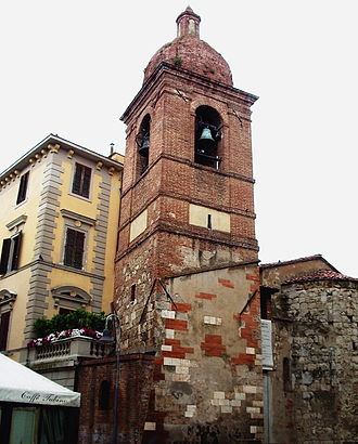 Grosseto - Bell Tower of the Church of San Pietro