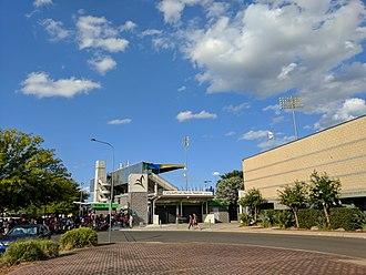 Campbelltown Stadium - Campbelltown Stadium entrance