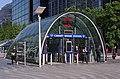 Canary Wharf tube station MMB 07.jpg