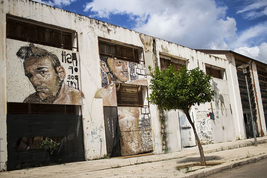 > Street art de Cantieri Culturali Zisa à Palerme - Photo de Cristiano Drago