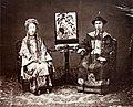 Cantonese mandarin and his wife, 1861-1864 (Vintage.es).jpg