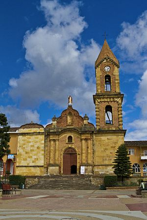 Tuta, Boyacá - Church of Tuta