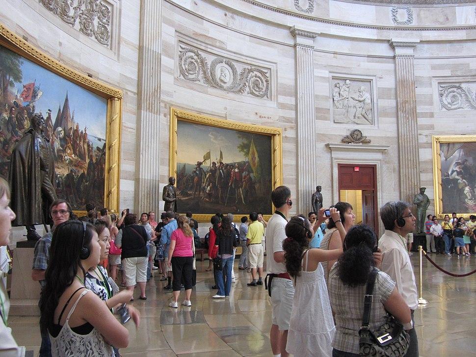 Capitol Rotunda Tour Group
