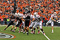 Cardinals on offense at Louisville at Oregon State 2010-09-18.jpg