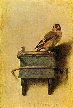 Carel Fabritius - The Goldfinch