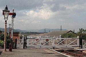 Carhampton, Somerset - Image: Carhampton West Somerset Railway at Blue Anchor geograph.org.uk 50170