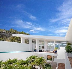 Carl Abbott - Image: Caribbean Hilltop House
