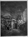 Carlo Cainelli – A San Gimignano (Una torre).tiff