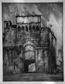 Carlo Cainelli – Porta medioevale, San Gimignano.tiff