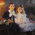 Carmen y Felipe, hijos del pintor (Ulpiano Checa).jpg