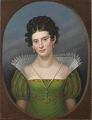 Portrait of Dorothee van Herzeele