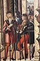 Carpaccio, storie di s.orsola 01 Arrivo degli ambasciatori inglesi alla corte del re di Bretagna, 1495 circa, 04.JPG