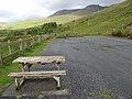 Carpark at Lough Nafooey - geograph.org.uk - 2425252.jpg
