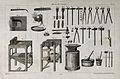 Carpentry; an assortment of tools. Engraving by N. L. Rousse Wellcome V0023903.jpg