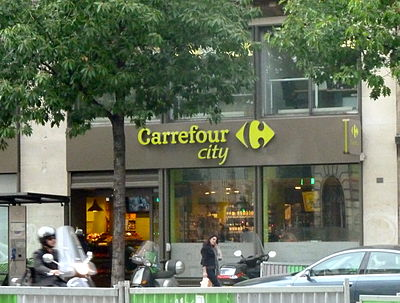 Carrefour City, Paris