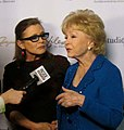 Carrie Fisher and Debbie Reynolds, 2015.jpg