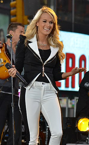 Carrie Underwood discography - Underwood performing at Times Square in May 2012