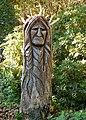 Carved tree stump on the Tregenna Estate - geograph.org.uk - 1551906.jpg