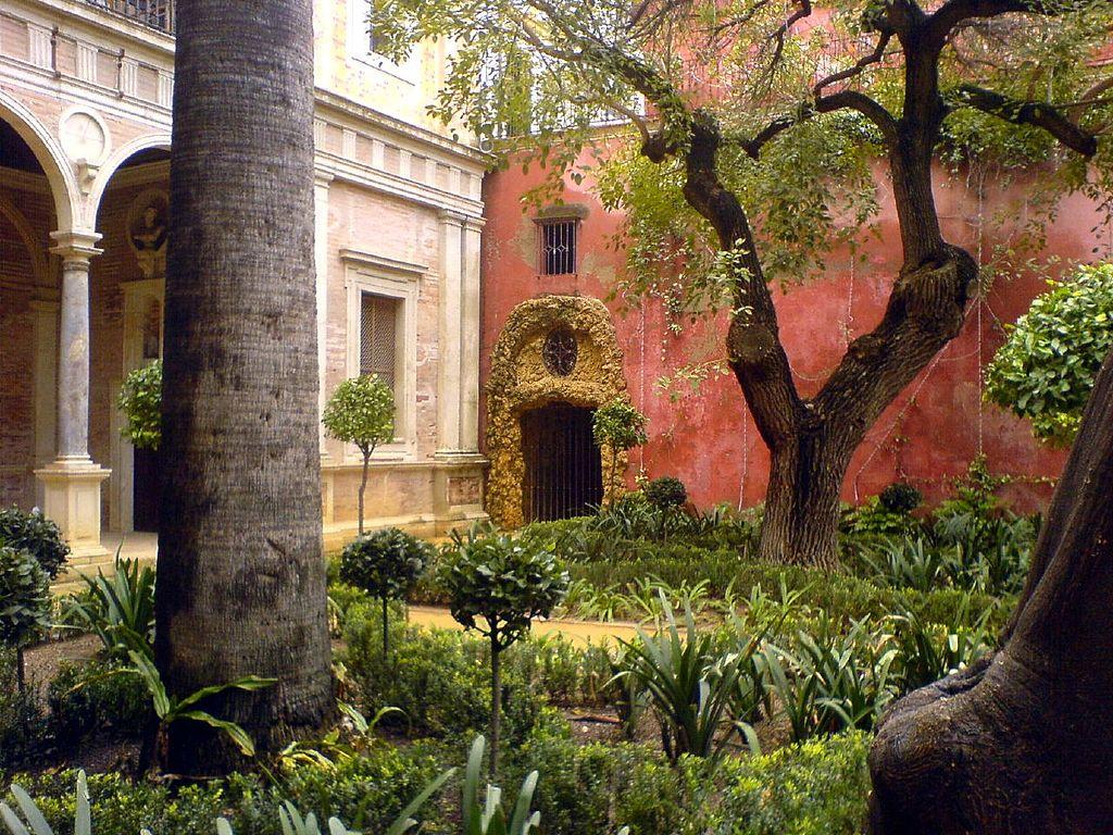 Jardin de la Casa de Pilatos à Séville - Photo de Bongo Vongo