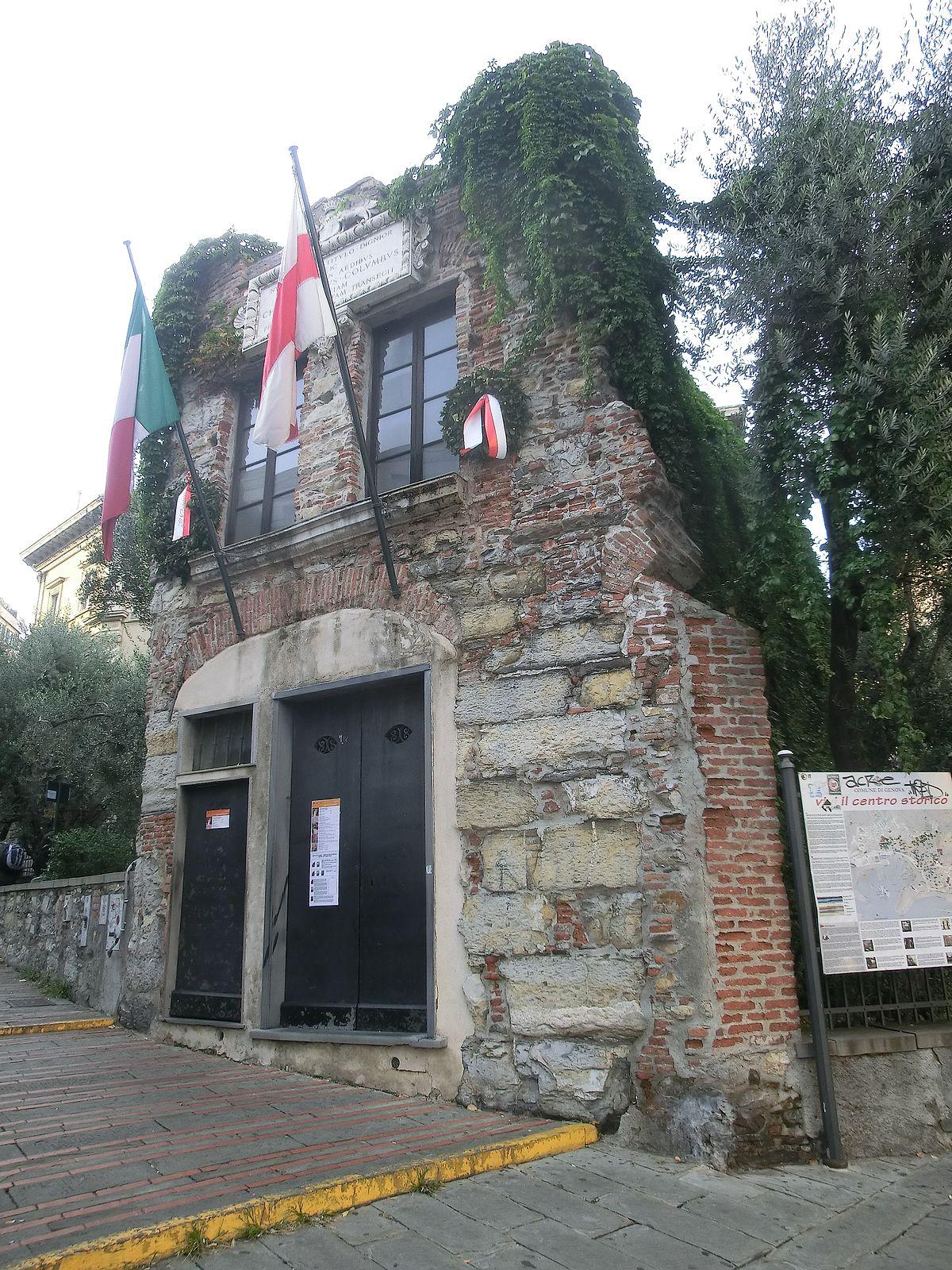 Casa di cristoforo colombo genova wikipedia for Immagini di casa