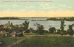 Casco Bay in 1910