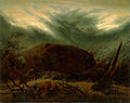 Caspar David Friedrich - Hünengrab im Herbst (ca.1820).jpg