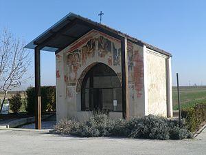 Castelletto Stura - Chapel of St. Bernard.