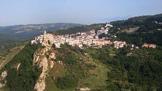 Castellino del Biferno - Image: Castellino del Biferno veduta