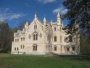 Sturdza family - The Sturdza Castle in Miclăuşeni